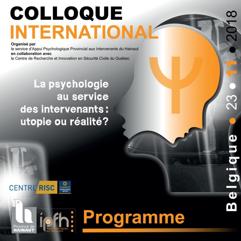 Colloque international - La psychologie au service des intervenants - 23 novembre 2018